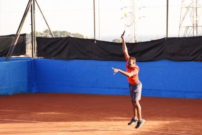 Jugador 1 equipo Alhaurín el Grande - Liga por equipos de tenis de Málaga