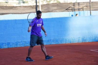 Jugador 1 equipo Nacualinos - Liga por equipos de tenis de Málaga