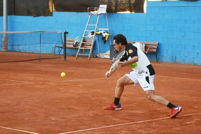Jugador 2 equipo Benalmádena - Liga por equipos de tenis de Málaga