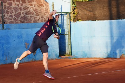 Jugador 2 equipo Nacualinos - Liga por equipos de tenis de Málaga