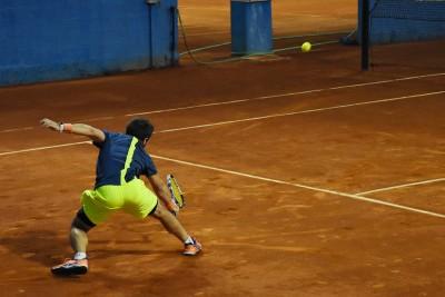 Jugador 3 equipo Nacualinos - Liga por equipos de tenis de Málaga2
