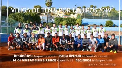 Final de tenis por equipos (Málaga) - Ligatenis.es